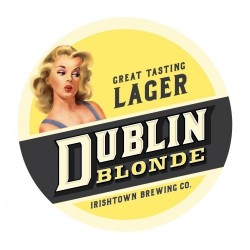 BIRRA BLONDE IRISH TOWN DUBLIN
