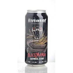 BIRRA BLACKMAMBA LATTINA OATMEAL STOUT AVIATOR