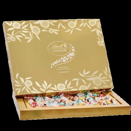 Lindt     Scatola di cioccolatini Lindor assortiti - 725 gr