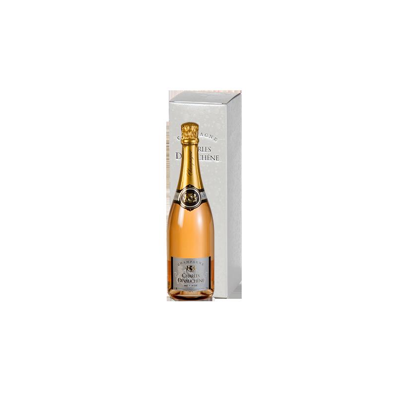 Charles Devauchène     Champagne BRUT ROSE'