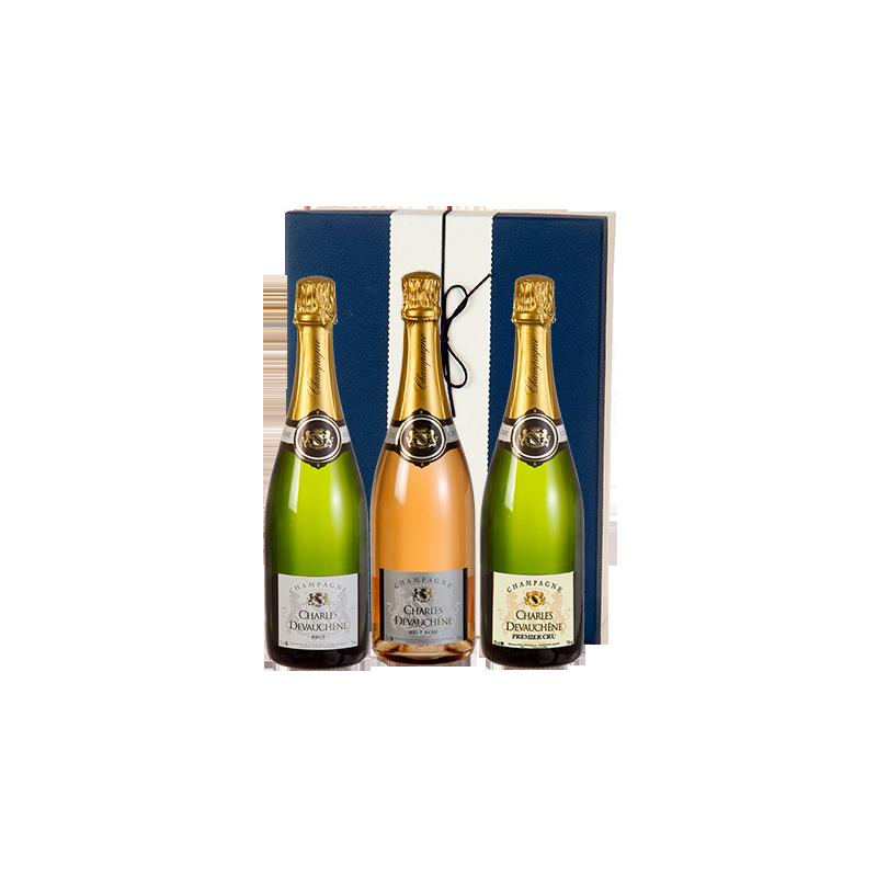 Charles Devauchène     Champagne Brut - Confezione da 3 bottiglie