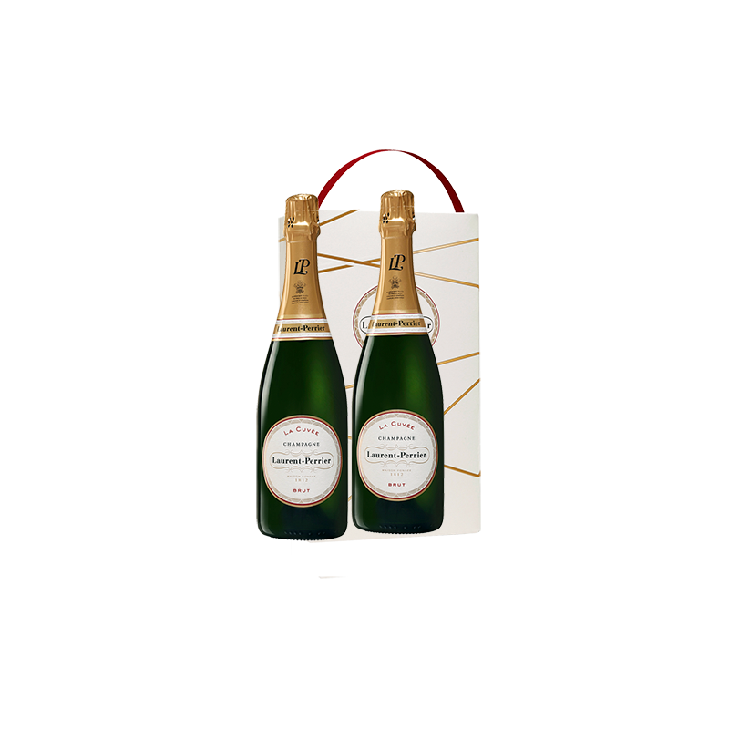LAURENT PERRIER BRUT CL.75 CONF. X 2