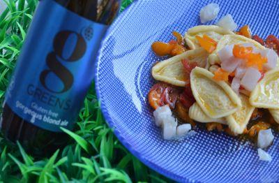 Orecchiette con Pesce Spada alla Blond Ale