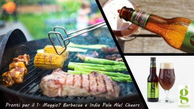 India Pale Ale & Barbecue per la tua Festa del 1. Maggio