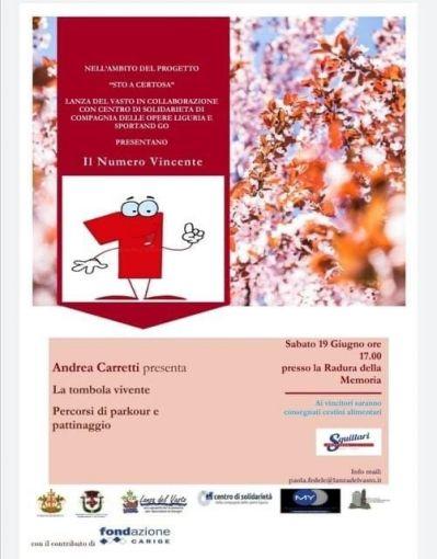 IL NUMERO VINCENTE - Lanza del Vasto, Centro di Solidarietà, Proloco Sampierdarena e Sport and Go