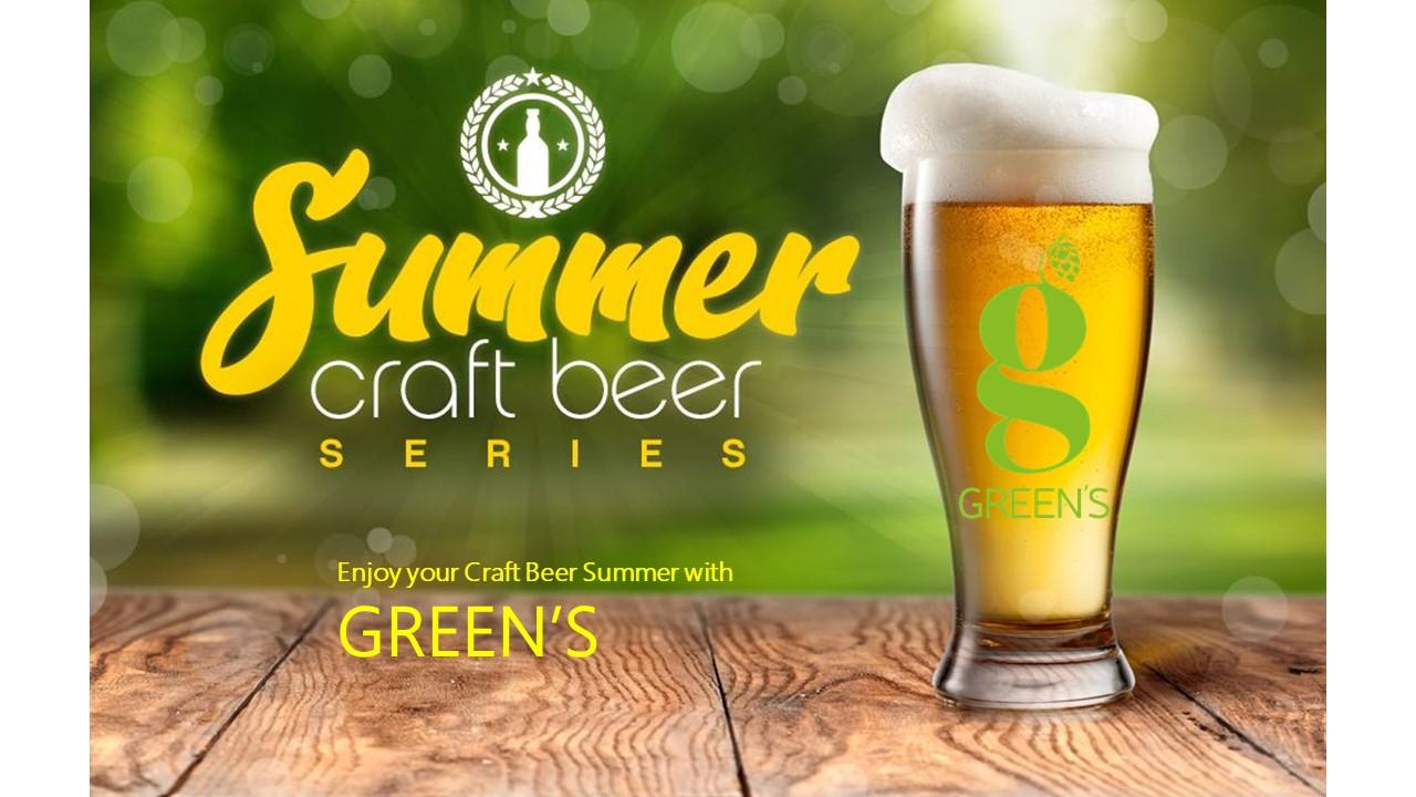 Green's augura a tutte e a tutti una fresca e birrosa Estate!