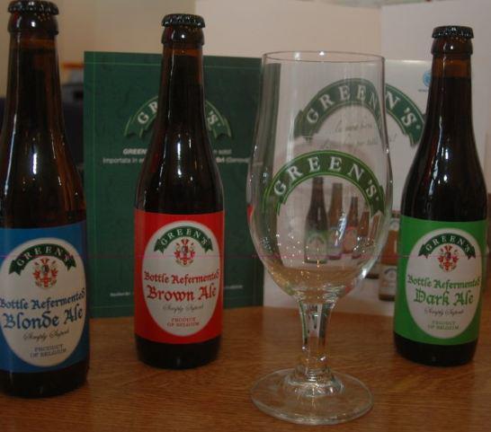 Sono arrivati i CALICI da birra con il logo GREEN'S!!!