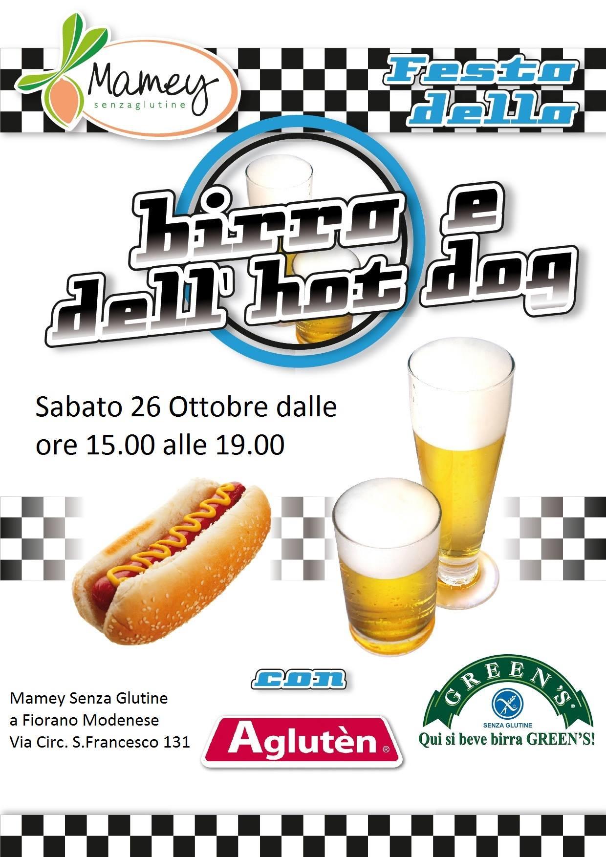 Festa della BIRRA e dell'HOT DOG da MAMEY Fiorano Modenese