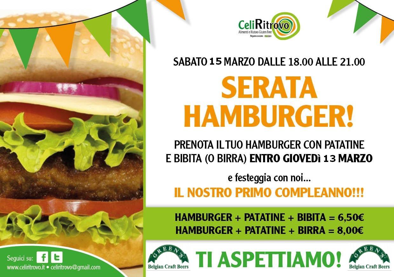 Hamburger & Birre Green's da Celi-Ritrovo