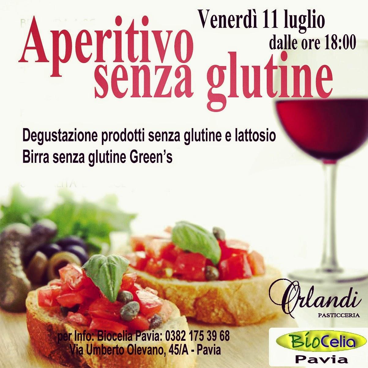 Aperitivo senza glutine a Pavia!