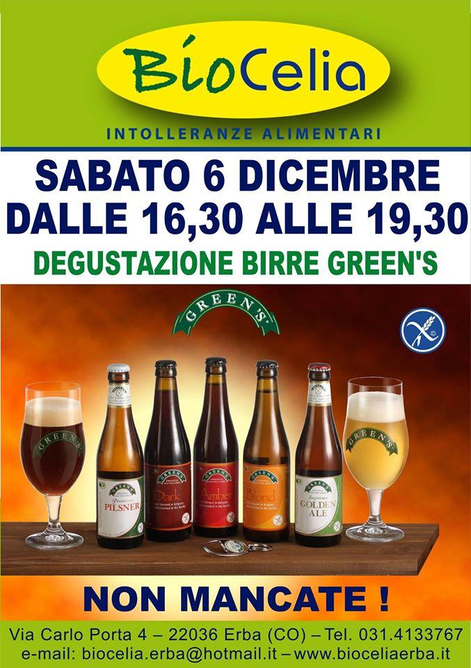 Presentazione delle Birre GREEN'S a Erba (Como)