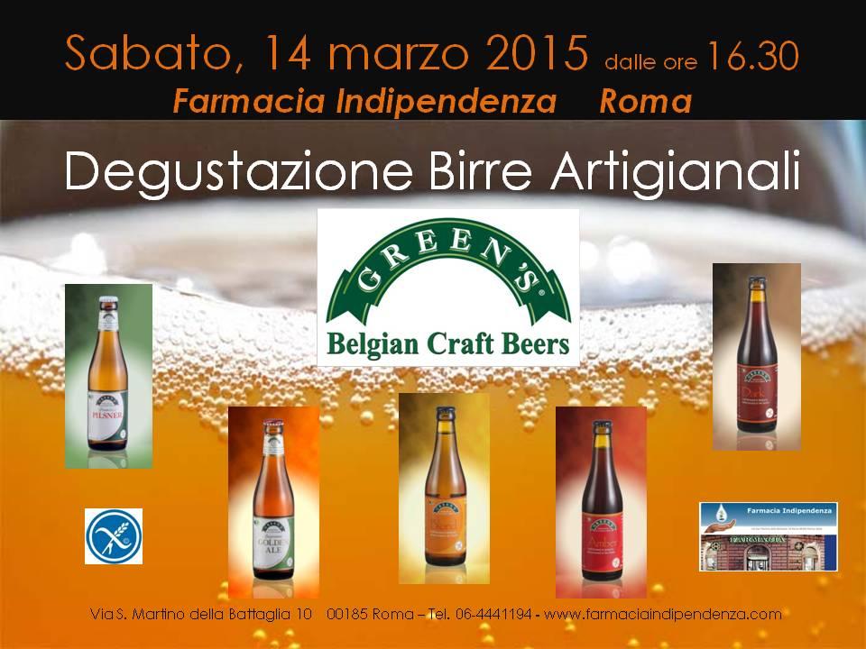 Degustazione Birre GREEN'S a Rovereto - Trento