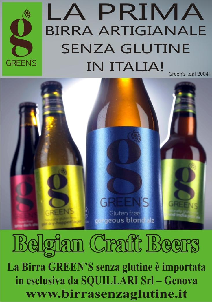 Green's - La prima Birra Artigianale senza glutine in Italia.......dal 2004!