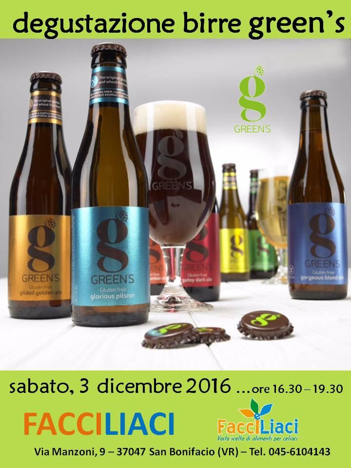 Degustazione Birre GREEN'S da FACCILIACI - San Bonifacio (Verona)