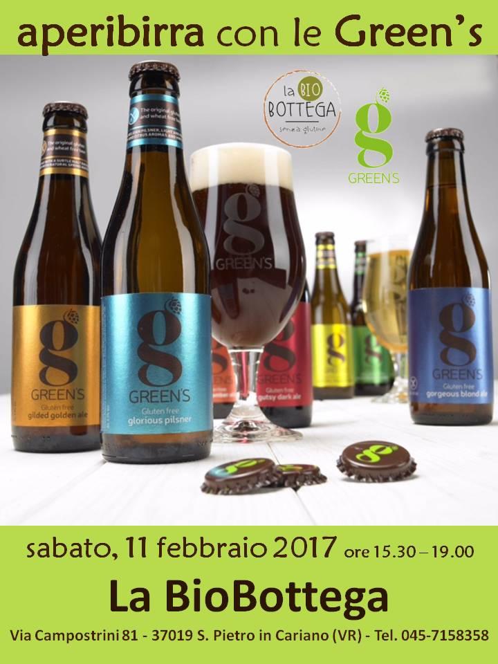 Degustazione Birre GREEN'S - La BioBottega di San Pietro in Cariano (Verona)