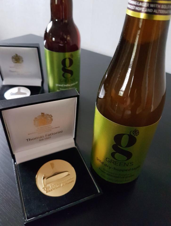 Oro e Argento per le Green's!