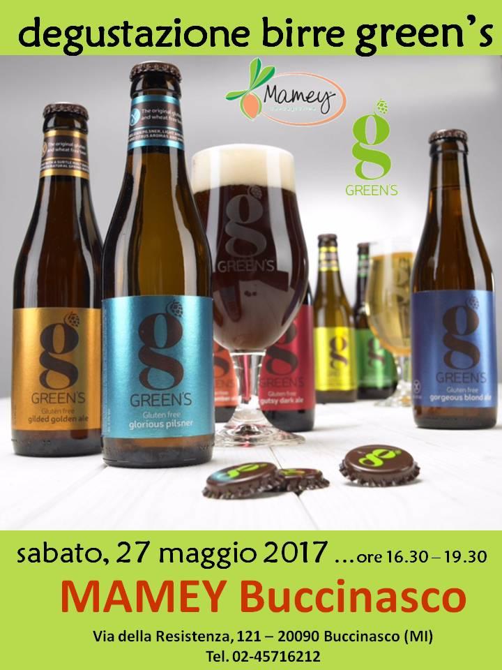Degustazione Birre GREEN'S - MAMEY Buccinasco (Milano)