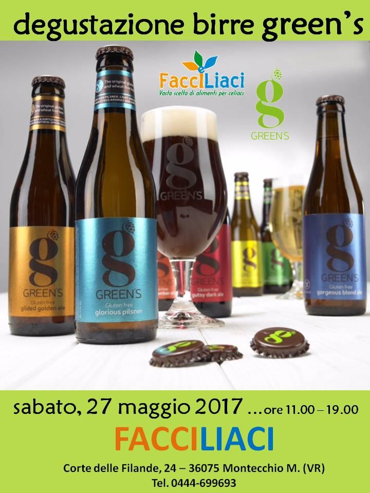 Degustazione Birre GREEN'S - FACCILIACI di Montecchio Maggiore (Verona)