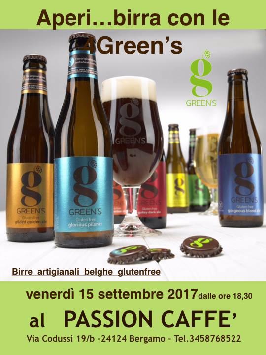 Passion Café Bergamo presenta le Green's!