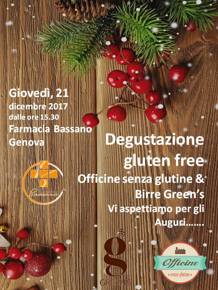 Degustazione Officine senza Glutine & Birre Green's