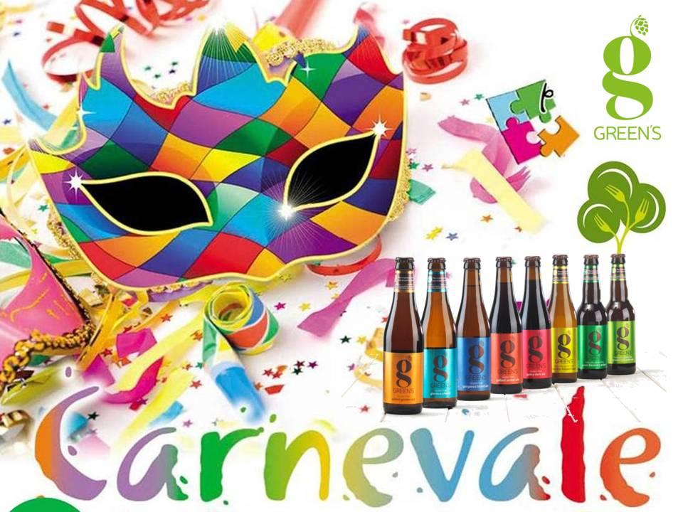 A Carnevale, ogni Birra Green's vale!