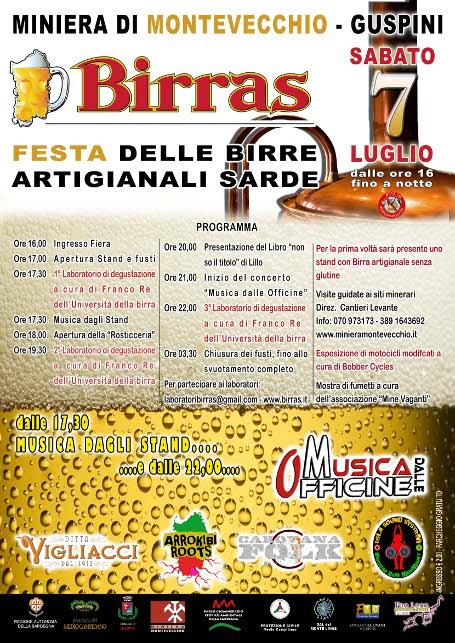 Green's per il quarto anno a BIRRAS - Guspini (VS) - Sardegna